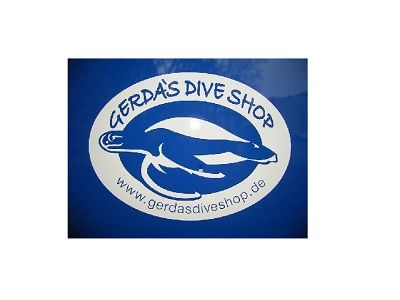 Gerda's Dive Shop Logo